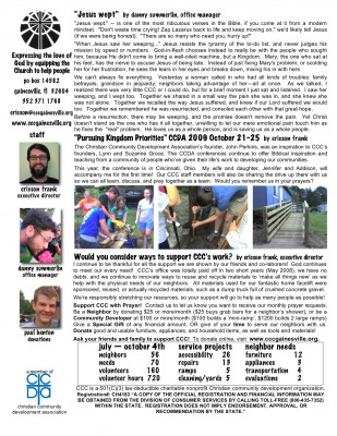 fall newsletter house 09 b